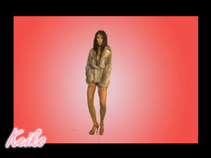 Keiko in Fur Coat